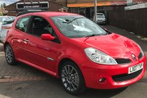 Renault Clio 2.0 VVT Renaultsport 3dr 1 FORMER KEEPER , GOOD HISTORY