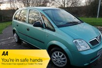 Vauxhall Meriva 2004 / 54 LIFE 8V Air Con - Jan 2021 MOT - Warranty & AA Cover Included
