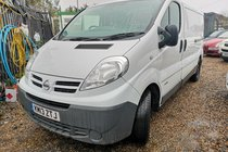 Nissan Primastar DCI SE SHR P/V lwb long wheel base