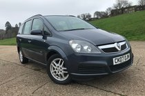 Vauxhall Zafira 1.6i 16v Life
