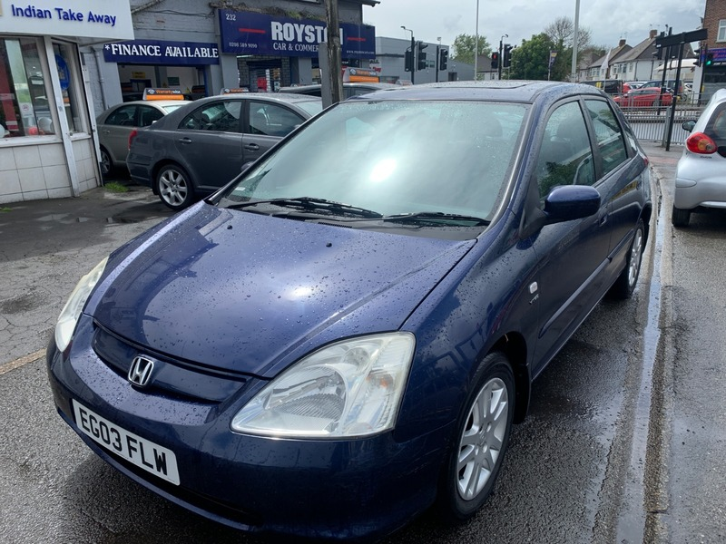 Honda Civic Commercial >> Honda Civic Se Executive Royston Car Commercial Ltd