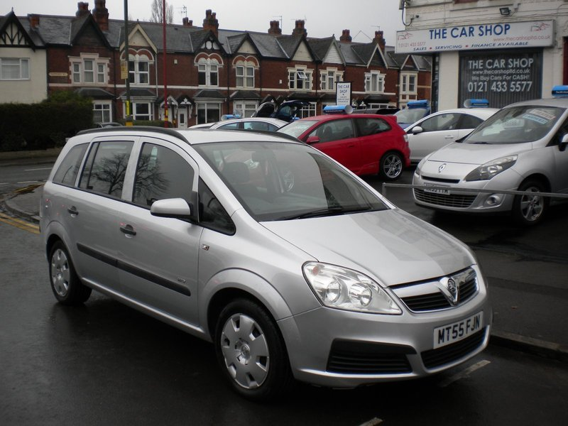 Vauxhall Zafira 1 6i 16v Life The Car Shop