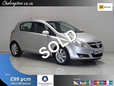 Vauxhall Corsa 1.4 16v Design 5DR, Low Mileage, Low Insurance,  £145 Road Tax, 40MPG