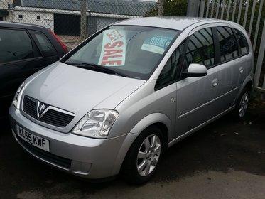 Vauxhall Meriva Breeze 1.6i 16v + AIR CON. 100 bhp
