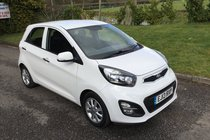 Kia Picanto 1.25 2 EcoDynamics FULL SERVICE HISTORY WITH BLUETOOTH AND AIR CONDITIONING