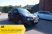 Nissan Juke TEKNA DCI FSH ! HTD LEATHER ! LANE ASSIST ! SATNAV/CAMERA/MEDIA/BT ! £44 PW & NO DEPOSIT !
