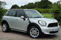 MINI Countryman COOPER D ALL4 [CHILI + MEDIA + SAT NAV + LEATHER + H/SEATS]
