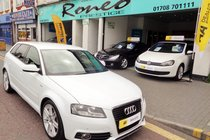 Audi A3 TDI S LINE HATCHBACK ONLY 20 pound ROAD TAX