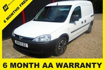 Vauxhall Combo 1700 CDTI E4 6 MONTH WARRANTY - 12 MONTH MOT - FULL SERVICE - 12 MONTH AA BREAKDOWN COVER