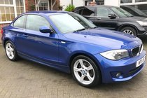 BMW 1 SERIES 120i SPORT, LADY OWNER, HALF LEATHER SEATS