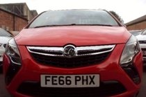 Vauxhall Zafira Tourer 1.4T ENERGY 140 6SP SAT NAV 7 SEATS