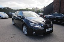 Lexus CT 200H SE-L PREMIER TOP SPEC MODEL ! FULL LEXUS SERVICE HISTORY ! SAT+HTD LEATHER+CAMERA ZERO YEAR TAX !