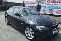 BMW 3 SERIES 318D M SPORT 2011 **LOW WARRANTED 76,175 MILES **£30 ROAD TAX **HPI CLEAR **FULL SERVICE HISTORY **12 MONTH AA COVER INCLUDED