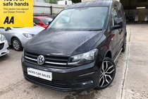 Volkswagen Caddy C20 TDI HIGHLINE VERY NICE EXAMPLE WITH ONLY 74,000 FULL SERVICE HISTORY SPARE KEY PX WELCOME
