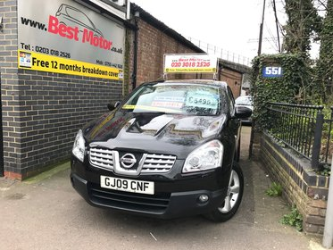 Nissan Qashqai 1.5 dCi Tekna+ Panoramatic Roof,Full Black Leather
