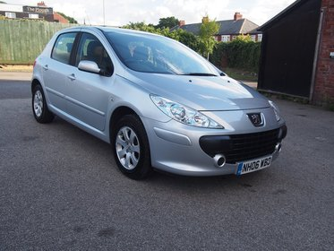 Peugeot 307 1.6 HDI 90 S FULL SERVICE HISTORY ! GR8 MPG RETURN ! 99% FINANCE APPROVAL !