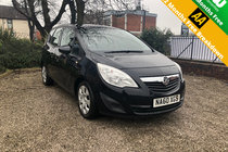 Vauxhall Meriva 1.7 EXCLUSIV CDTI