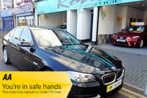BMW 5 SERIES 520d SEONLY 35,000 MILES, 1 OWNER. ONLY £20  ROAD TAX