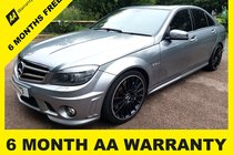 Mercedes C Class C63 AMG  6 MONTH AA WARRANTY - 12 MONTH MOT - FULL SERVICE - 12 MONTH AA BREAKDOWN COVER
