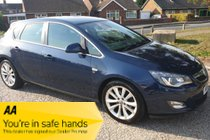 Vauxhall Astra ELITE CDTI - FULL MOT - 10x SERVICE STAMPS - ANY PX
