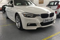 BMW 3 SERIES 318d M SPORT RED LEATHER ONLY 6100 MILES!!