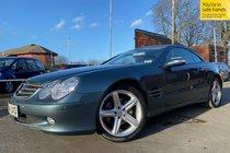 Mercedes SL SL350 used car in metallic aegean blue