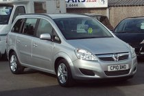 Vauxhall Zafira EXCLUSIV 1.6 77,000 MILES SERVICE HISTORY 7 SEATS MPV
