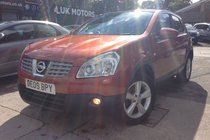 Nissan Qashqai TEKNA DCI METALLIC ORANGE,LEATHER TRIM, BIG SPEC, MUST BE SEEN!!!