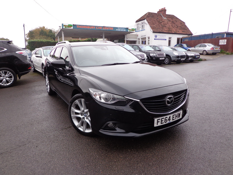 mazda 6 2 2 tourer sport nav 150ps thornbury car centre. Black Bedroom Furniture Sets. Home Design Ideas