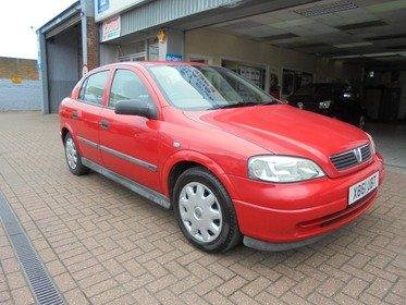 Vauxhall Astra CLUB 1.6I AUTOMATIC