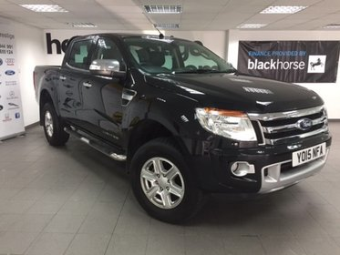 Ford Ranger 2.2TDCI 4X4 AUTO D/CAB LIMITED 150PS + Leather/Heated Seats ++++