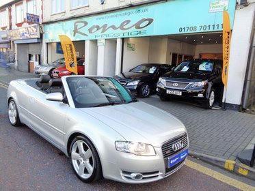 Audi A4 T FSI 2.0 S LINE CONVERTIBLE 2008, 2 FORMER KEEPERS, IMMACULATE !