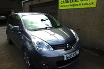 Nissan Note N-TEC - CAR NOW SOLD -