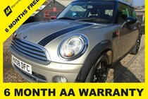 MINI Cooper D COOPER D6 MONTH AA WARRANTY-12 MONTH MOT-12 MONTH AA COVER-12 MONTH FULL SERVICE