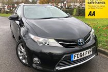 Toyota Auris 1.8 VVT-I EXCEL-PANORAMIC ROOF-FULL LEATHER-FSH-IMMACULATE