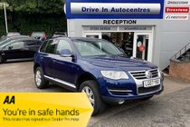 Volkswagen Touareg SE TDI DPF Good spec including Sat Nav,Leather, Heated Seats & also has towbar fitted. lots of  maintenance invoices. No adverse