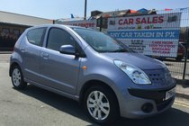 Nissan Pixo N-TEC 1.0 5DR 2011/61 **LOW WARRANTED 46,287 MILES **2 OWNERS FROM NEW **£20 ROAD TAX **12 MONTH MOT INCLUDED **PX WELCOME