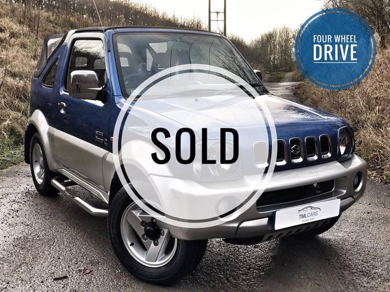 Suzuki Jimny O2 JLX Soft TOP **Now Sold**