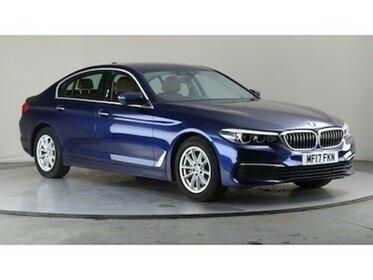 BMW 5 SERIES 520d SE 1 OWNER + VAT Q