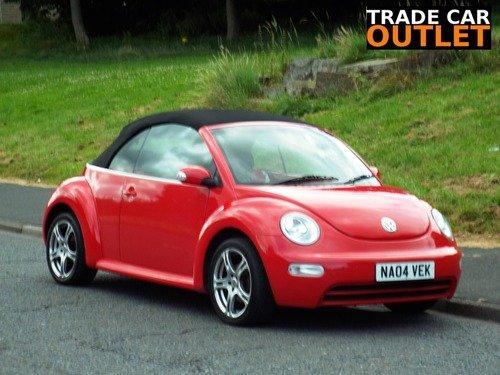 Volkswagen Beetle 1.4 CABRIOLET+NEW MOT+