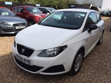 SEAT Ibiza SC 1.2 12V S A/C 70PS*HPI CLEAR*RECENT SERVICE*ONE FORMER KEEPER*MOT DUE 01/08/2018 *FREE 6 MONTHS WARRANTY