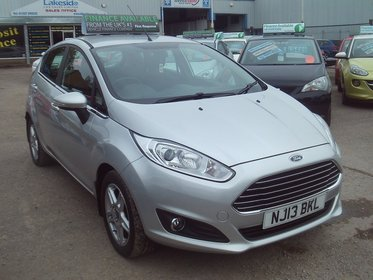 Ford Fiesta 1.0T ECOBOOST S/S ZETEC 100PS
