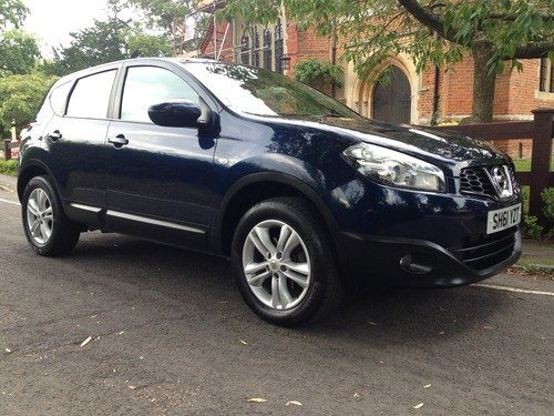 Nissan Qashqai 1.5 DCI ACENTA FULL SERVICE HISTORY, BLUETOOTH, CLIMATE CONTROL