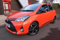 Toyota Yaris VVT-I ORANGE EDITION SAT NAV