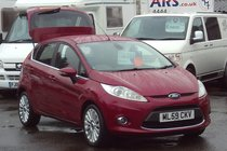 Ford Fiesta TITANIUM 1.4 5 DOOR 69,000 MILES SERVICE HISTORY SUPERB VALUE