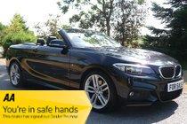 BMW 2 SERIES 220d M SPORT (BLACK SAPHIRE) 2016/65