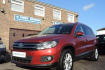 Volkswagen Tiguan 2.0 TDI SE BLUEMOTION TECHNOLOGY 140PS 4 WHEEL DRIVE AUTOMATIC