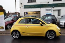 Fiat 500 1.2I LOUNGE 1LADY OWNER FROM NEW fsh