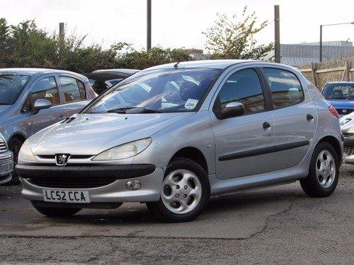 Peugeot 206 1.6 GLX AC