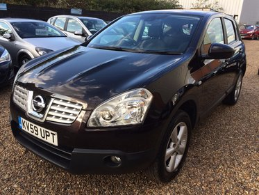 Nissan Qashqai 1.5 dCi Acenta 2WD 5dr*HPI CLEAR*FULL SERVICE HISTORY*ONE FORMER KEEPER*2 KEYS*MOT DUE 26/09/2017*FREE 6 MONTHS WARRANTY